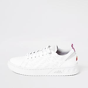 Ellesse – Mezzaluna – Weiße Sneakers