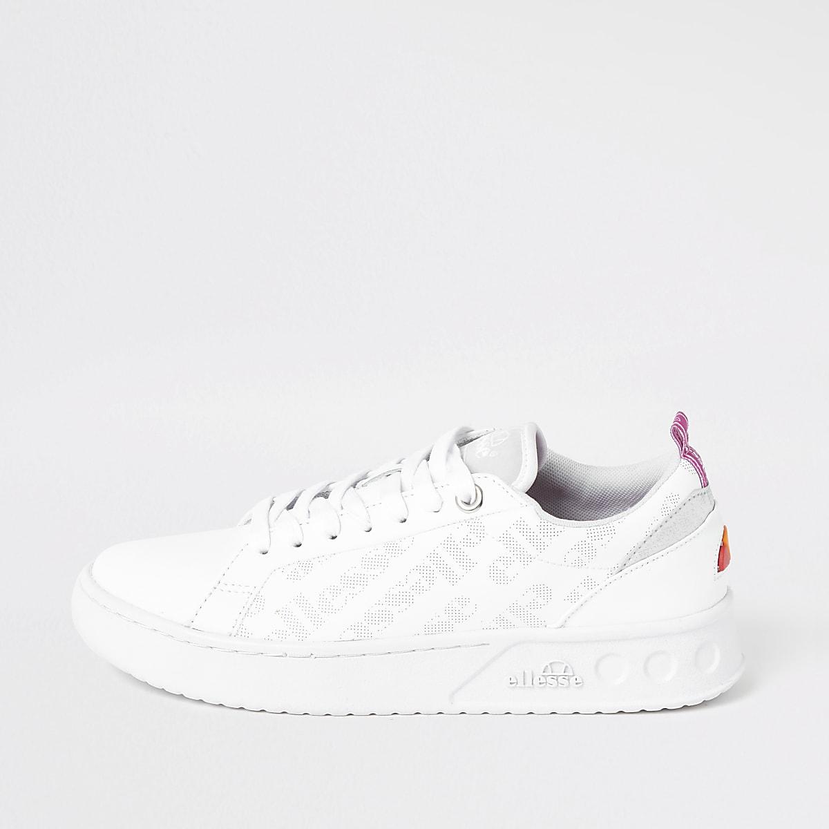 Ellesse white Mezzaluna sneakers