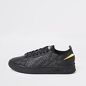 Ellesse schwarze Mezzaluna Sneaker