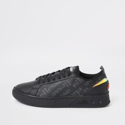 Ellesse black Mezzaluna trainers