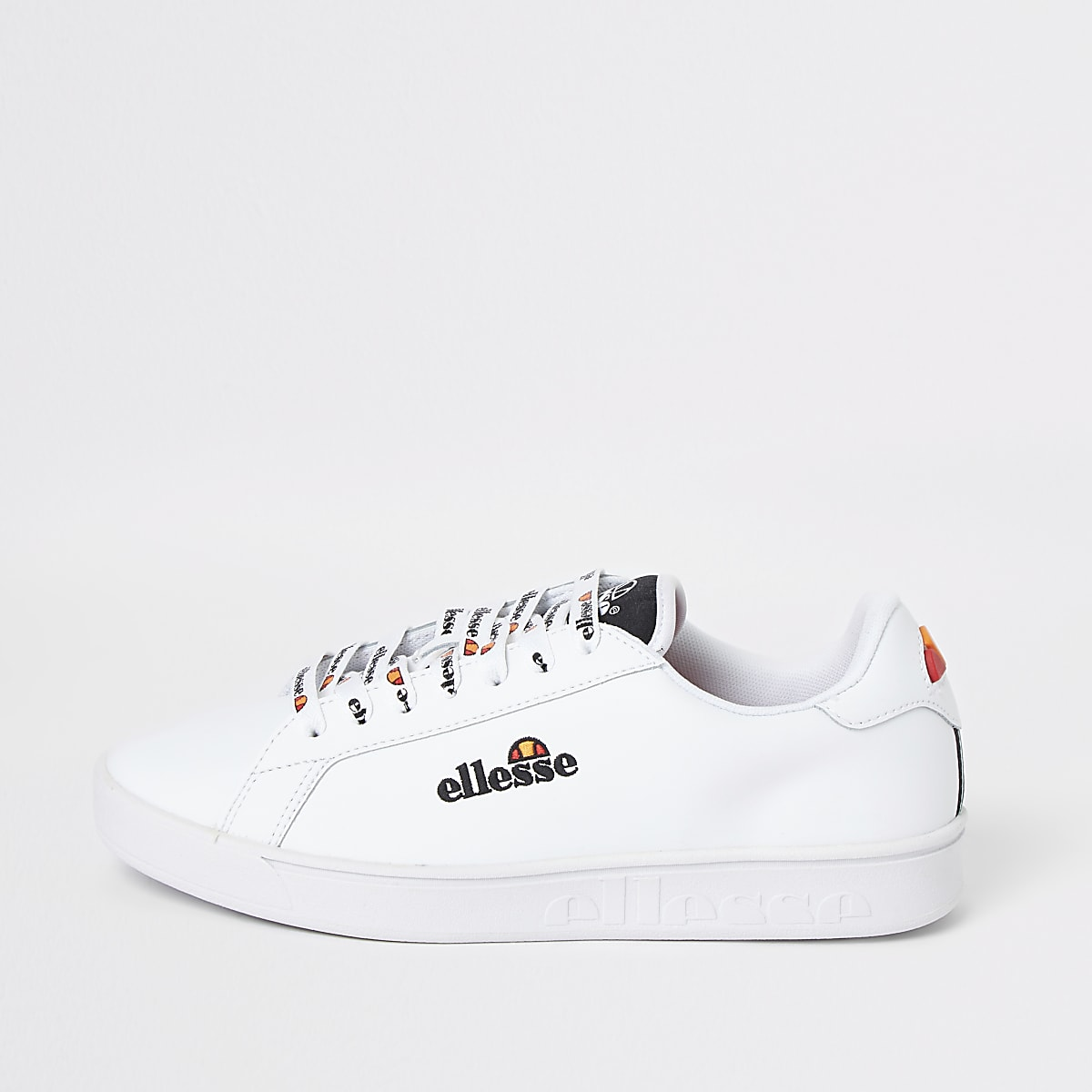 Ellesse – Campo – Baskets blanches brodées