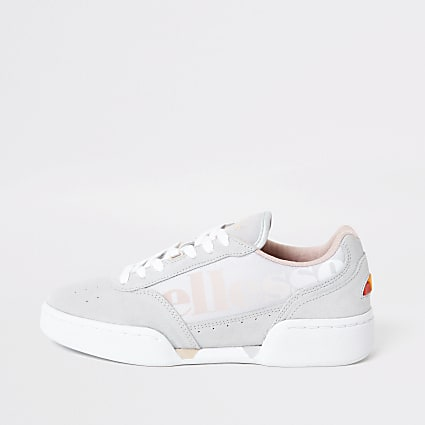 Ellesse Piacentino light grey trainers