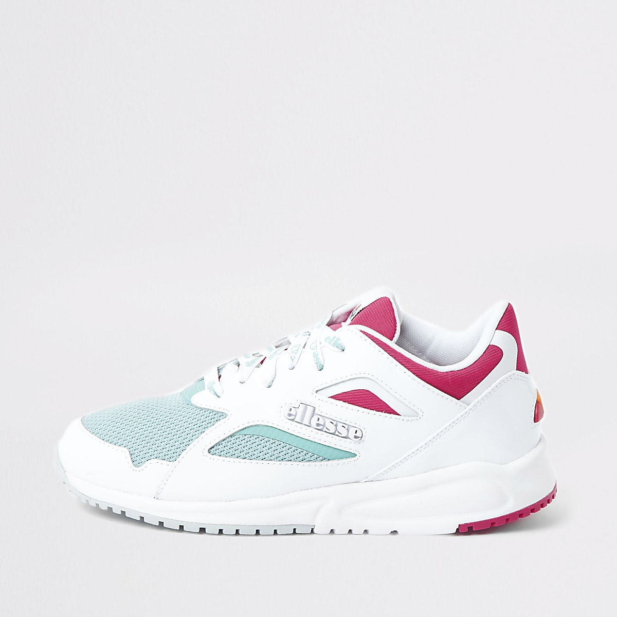 Ellesse white Contest runner trainers