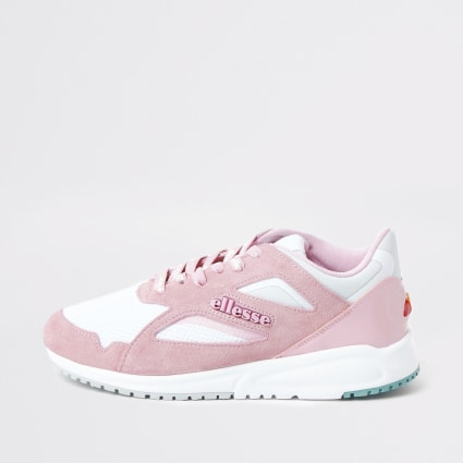 Ellesse pink Contest runner trainers