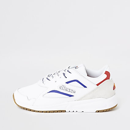 Ellesse white Contest trainers