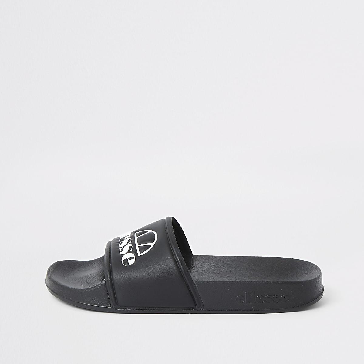 Ellesse - Zwarte slippers