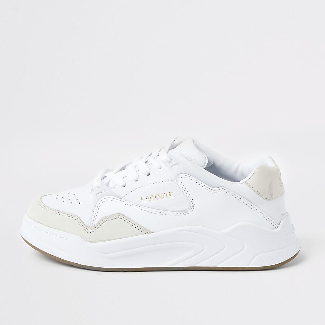 Lacoste – Baskets de courses blanches