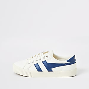 Gola Classics blue Tennis Mark Cox trainers