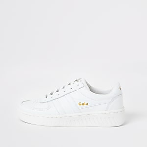 Gola Classic white Grandslam leather trainers