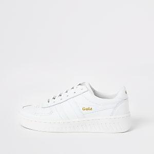 Gola Classic – Grandslam – Weiße Ledersneaker