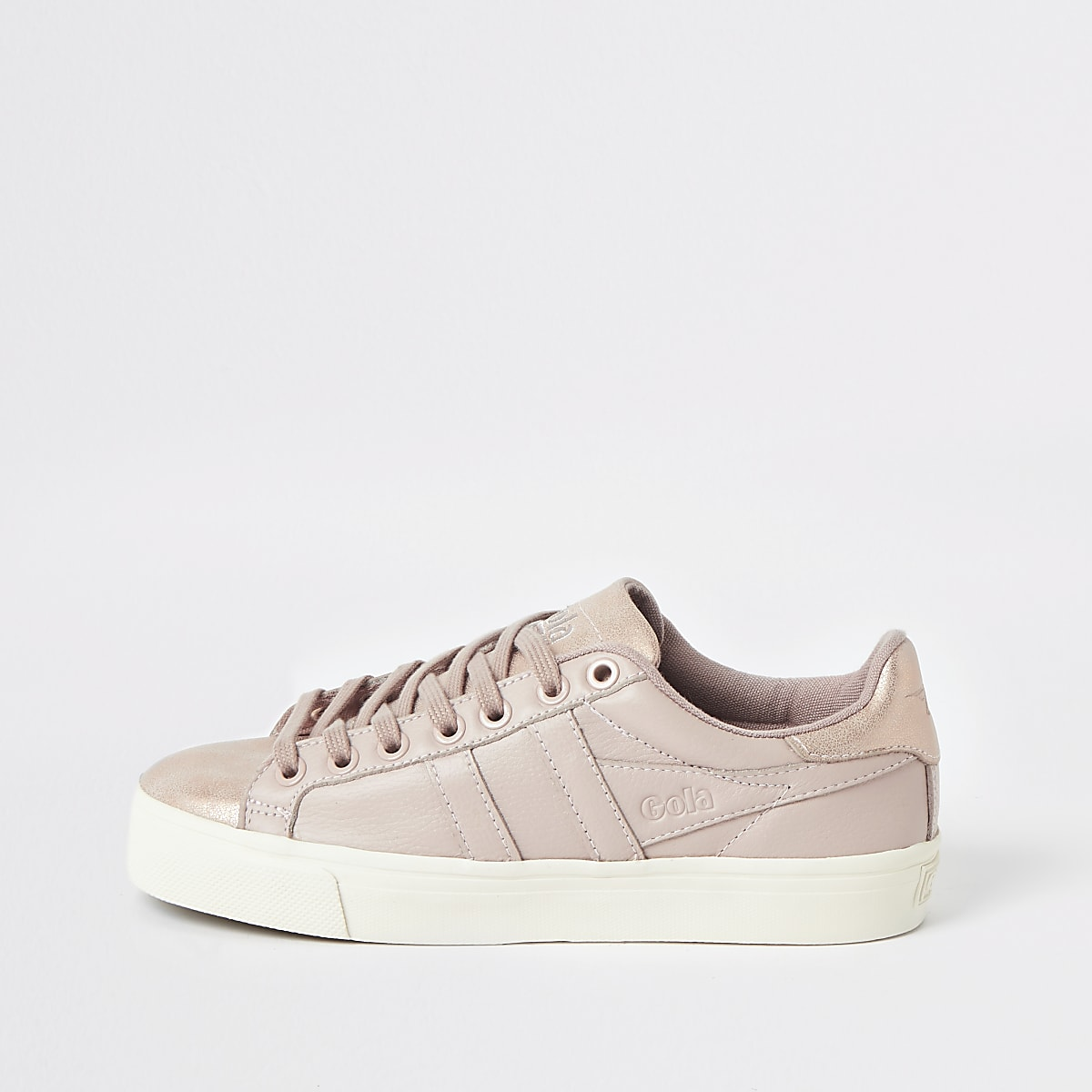 Gola Classics pink Orchid Shimmer trainers