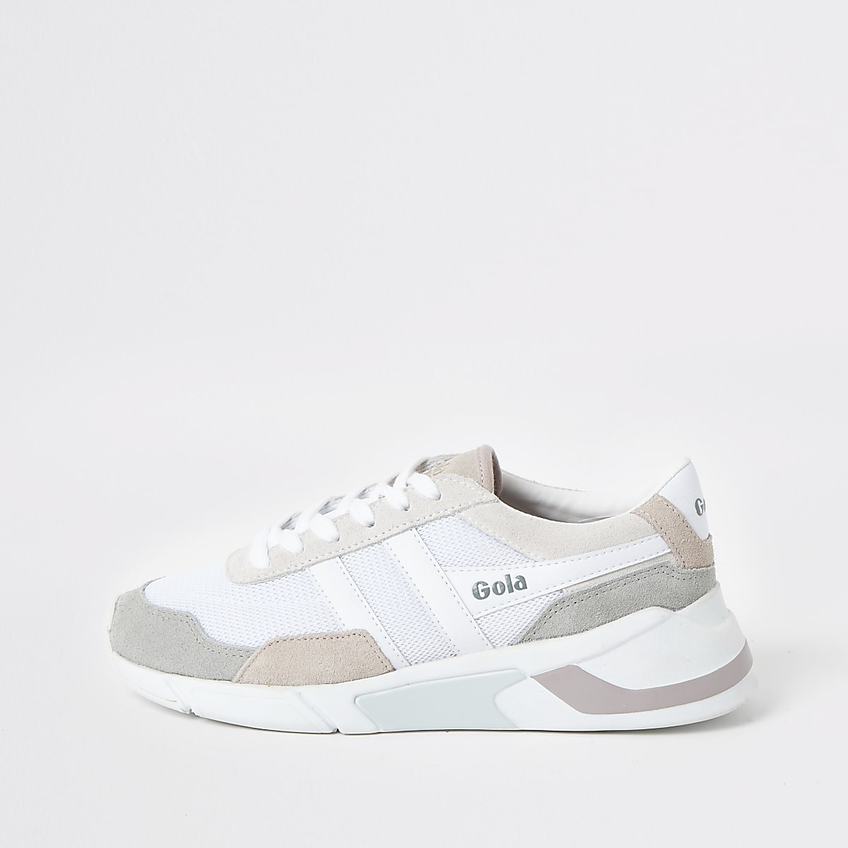 33415422c10c1 Gola white print Eclipse runner trainers - Trainers - Shoes & Boots - women