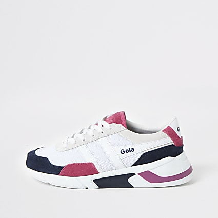 Gola Classics white Eclipse runner trainers