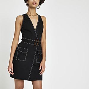 Mini robe fonctionnelle noire