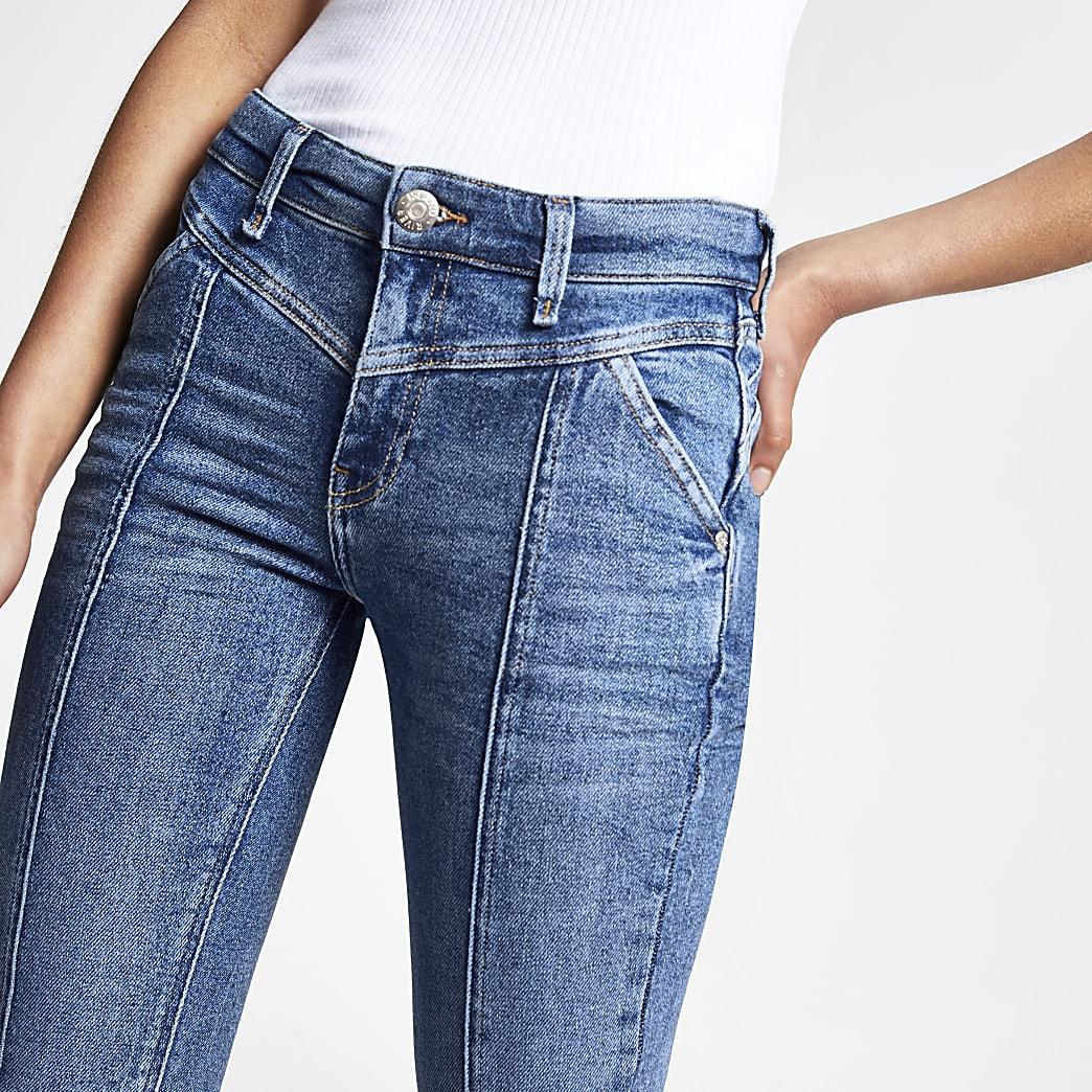 Amelie - Middenblauwe superskinny jeans