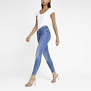 Mid blue Molly mid rise jeggings