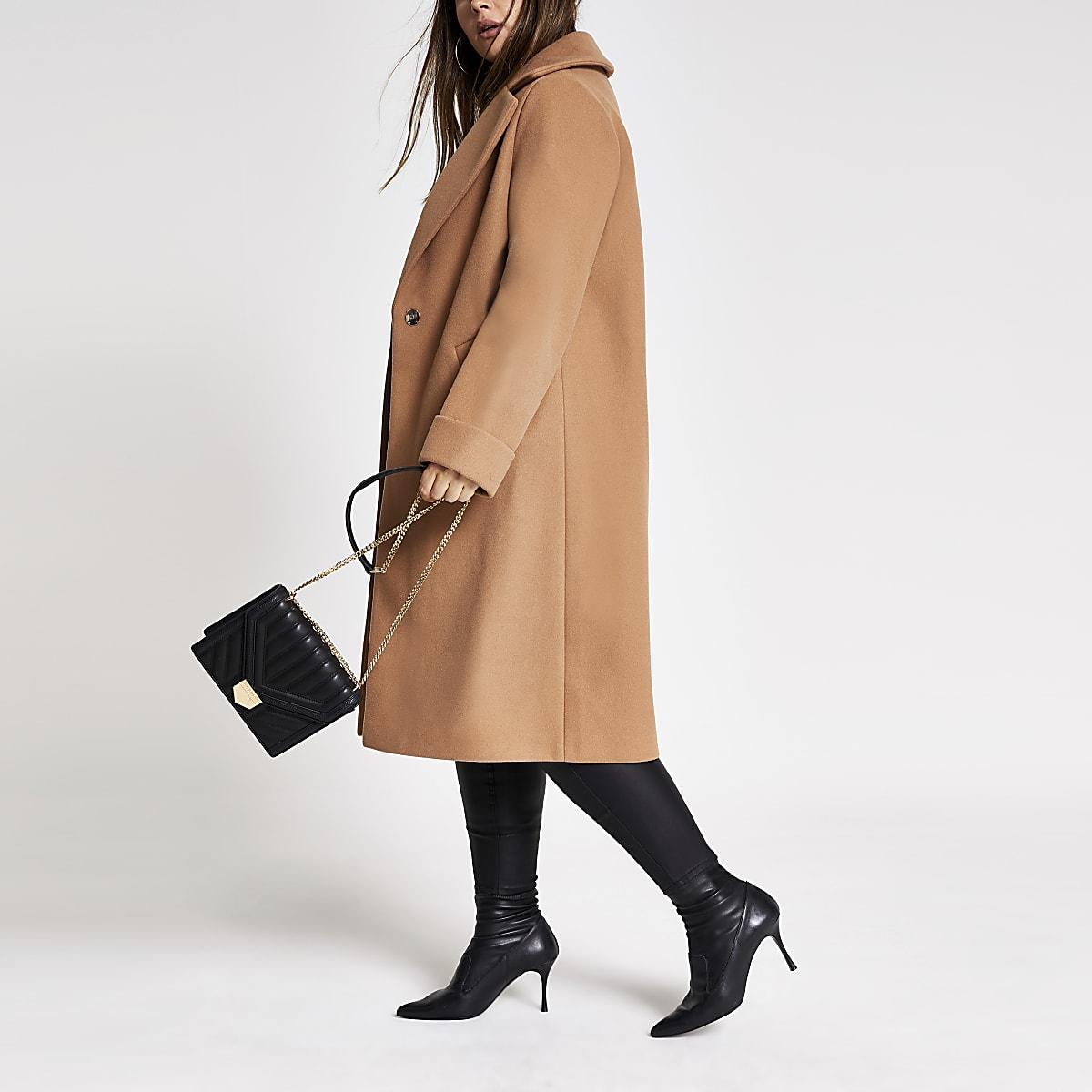 Plus - Manteau long beige