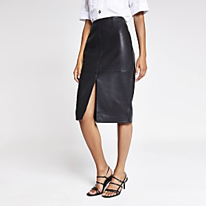 f3e7890f94 Midi Skirt | Pleated Midi Skirt | Denim Midi Skirt | River Island