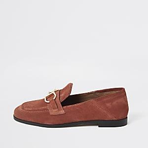 c0107824d Loafers for Women | Mocassins noirs | Mocassins | River Island