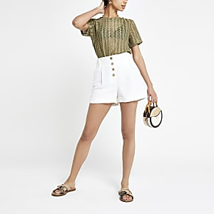 Khaki Loose Fit T-Shirt