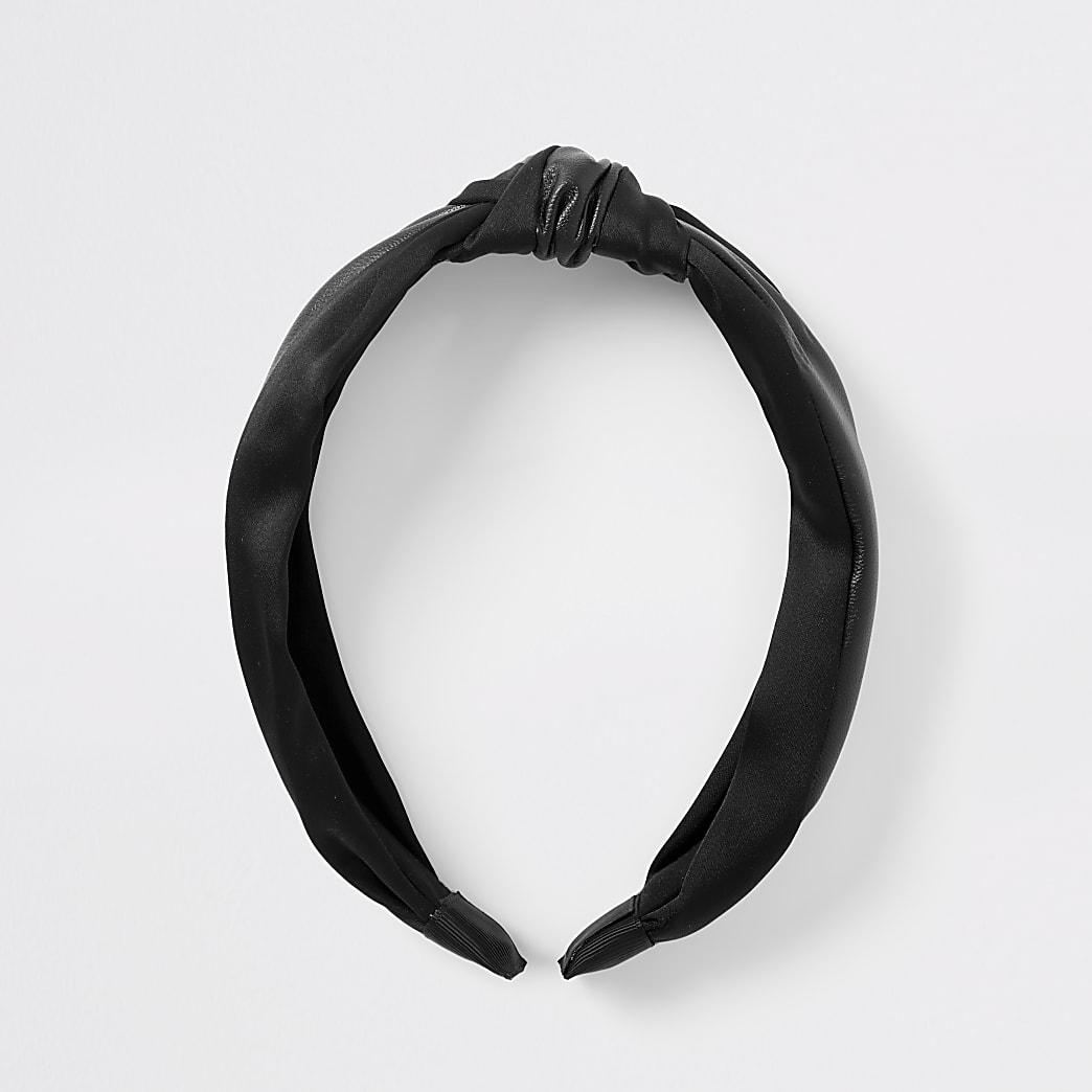 Black knot headband