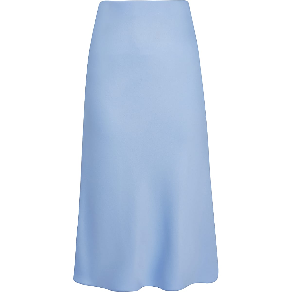 a60fa31ed5 Light blue bias cut midi skirt - Midi Skirts - Skirts - women