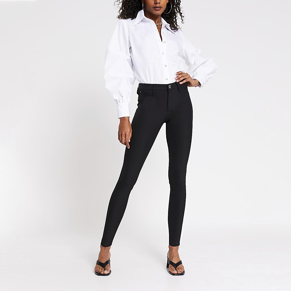 276c6eaeb2b7 Black Molly skinny fit trousers - Skinny Trousers - Trousers - women