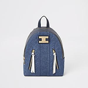 Blauer Rucksack mit RI-Einsatz