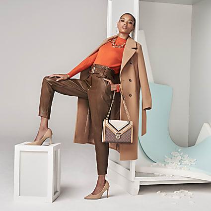 The Brown Uma Trousers