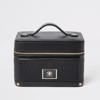 Black RI embossed vanity case
