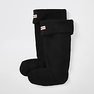 Hunter Original Schwarze Stiefelsocken