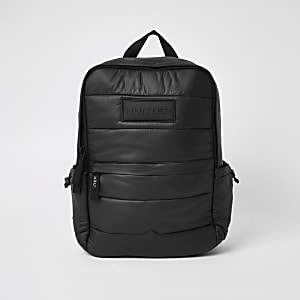 Hunter Originals – Sac-à-dos matelassé noir