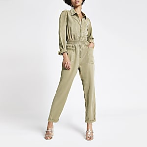 Utility-Overall in Hellbeige