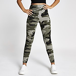 Leggings in Khaki
