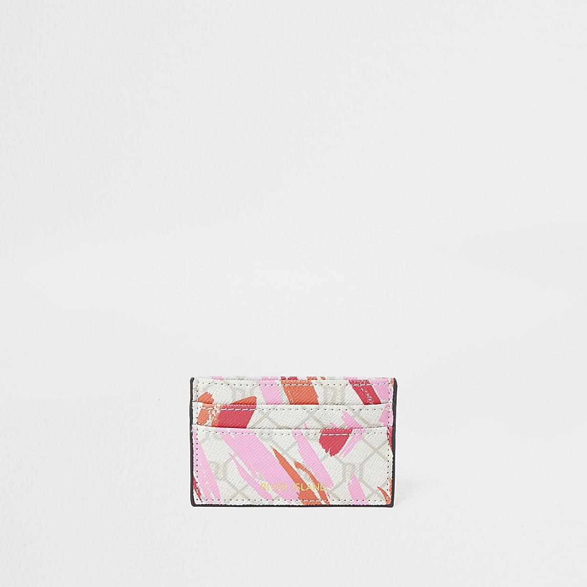 Pink RI lipstick smudge card holder