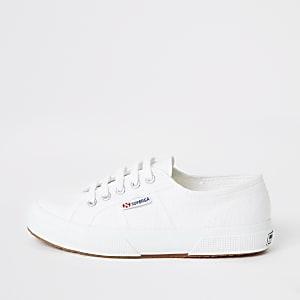 Superga – Baskets de course blanches classiques