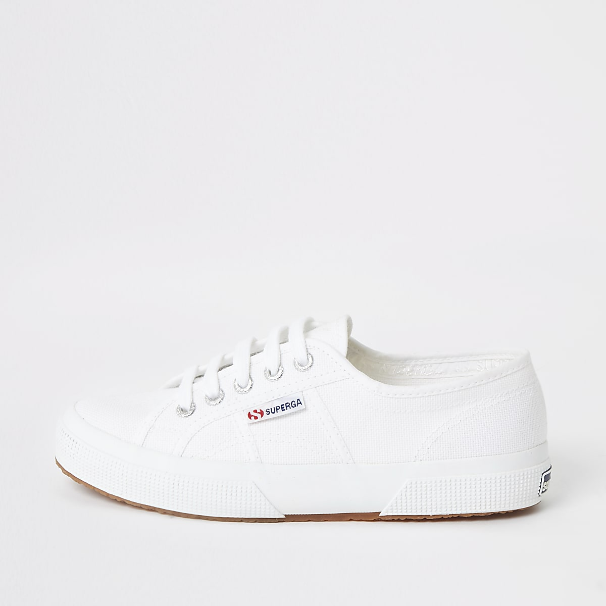 Superga white classic runner sneakers