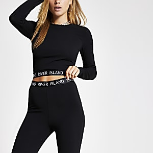 Black RI long sleeve top