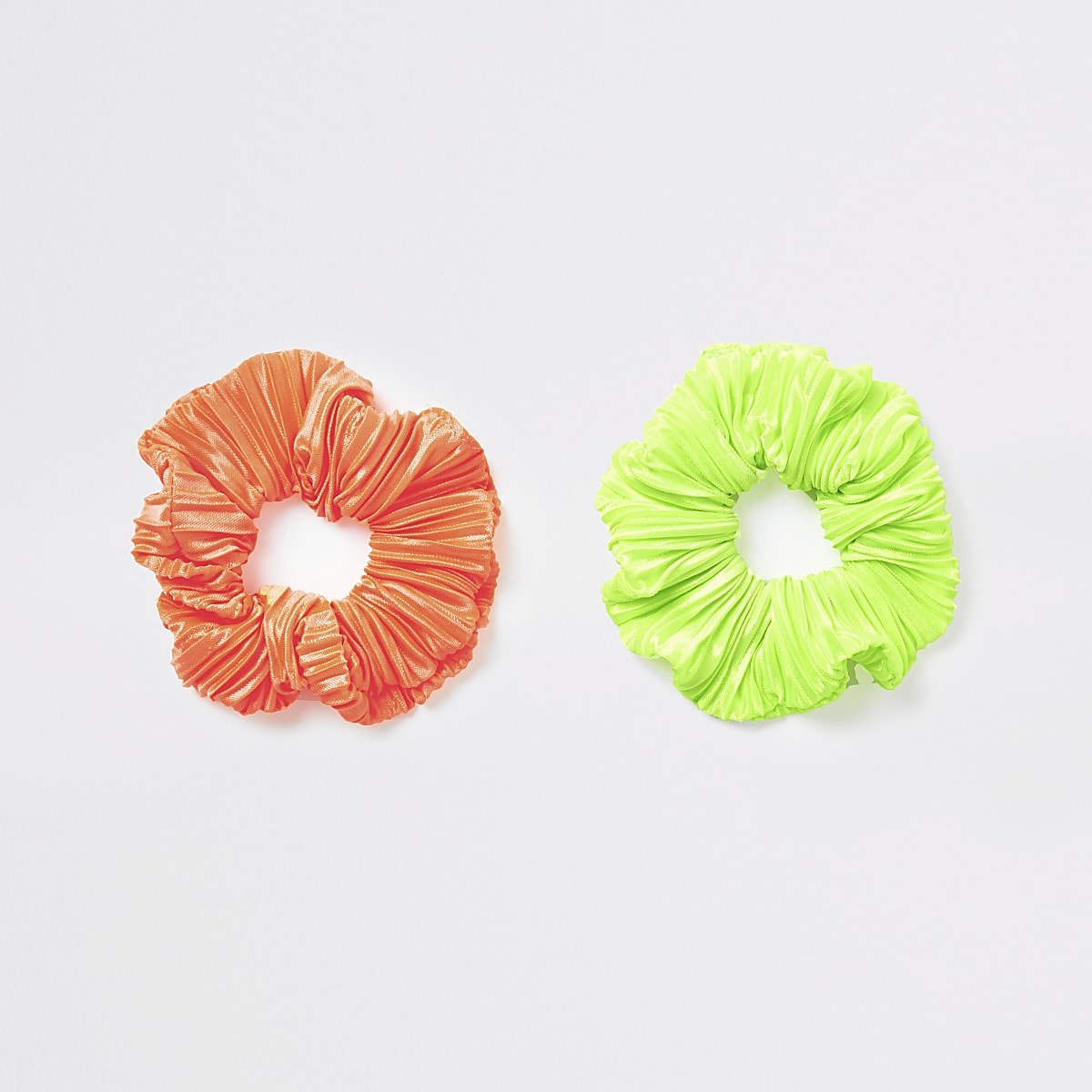 Neon scrunchie multipack