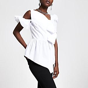 White frill asymmetric top