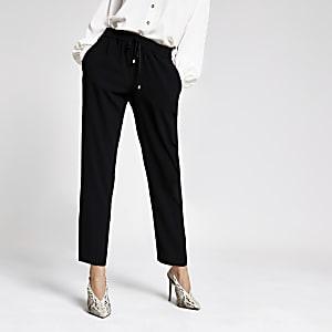 Pantalon de jogging habillé noir