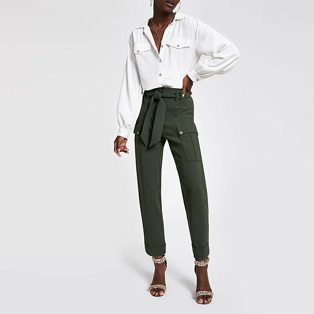 Pantalon fonctionnel kaki