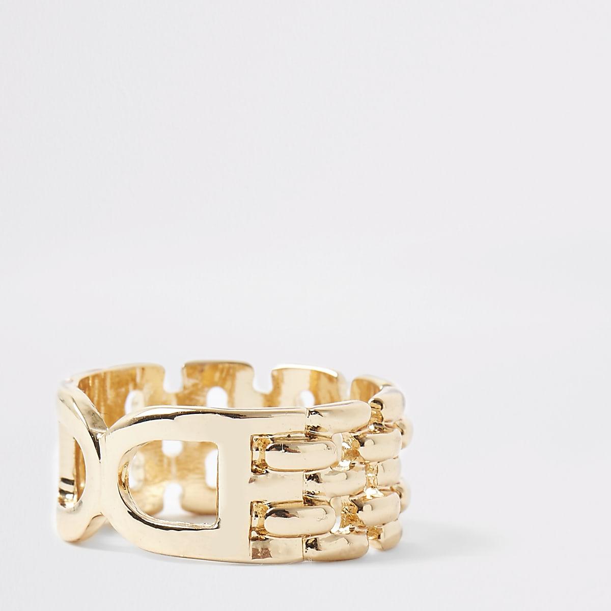 7d5280ff4107f Gold colour double D ring