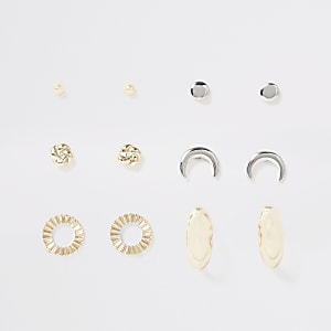 Mixed colour earring multipack