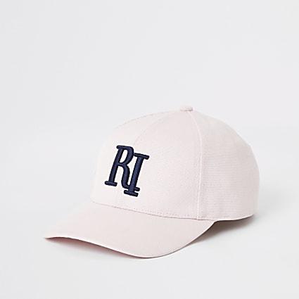 Pink RI baseball cap
