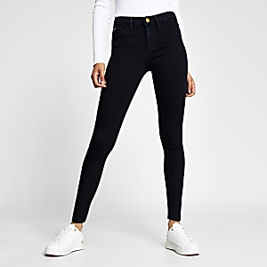 Navy mid rise Molly jeggings