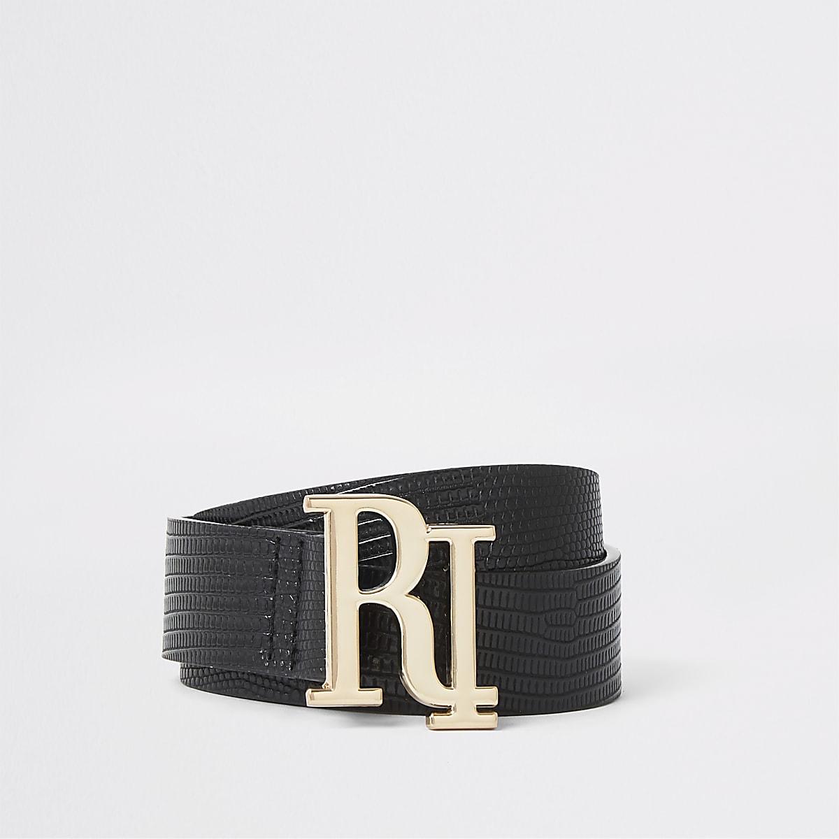 Black RI buckle belt