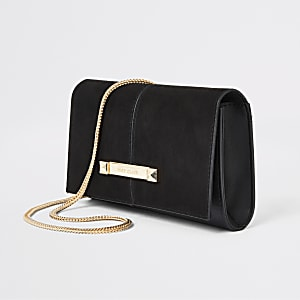 Zwarte onderarmtas