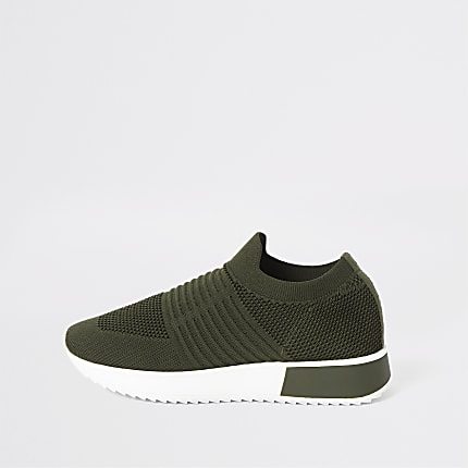 5735e6de6 Flat Trainers | Women Shoes & boots | River Island