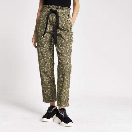 best selection of great variety styles baby Camo Trousers | Women Trousers | River Island